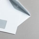 MAYSPIES Premium Hüllen DIN C6 | mit Fenster | haftklebend