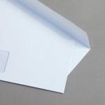 MAYSPIES Premium Hüllen DIN lang haftklebend mit Fenster | ohne Futter