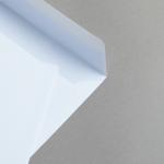 Briefhüllen Weiß Quadratisch 160 x 160 mm   haftklebend