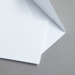 Minihüllen Weiß 62 x 98 mm | ohne Futter
