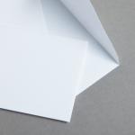 Minihüllen Weiß 74 x 112 mm | ohne Futter