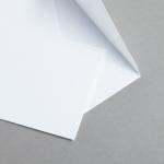 Minihüllen Weiß 87 x 132 mm | ohne Futter