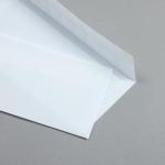 Transparent Farbig Hüllen DIN lang Weiß