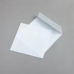 Transparent Farbig Hüllen 160 x 160 mm Weiß