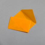 Transparent Farbig Visitenkartenhüllen Orange