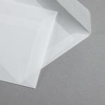 Transparent Premium Briefumschläge nassklebend 160 x 160 mm