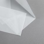 Transparent Premium Briefumschläge nassklebend 116 x 180 mm