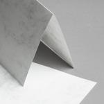 Marmor dtp Karten DIN A5 hochdoppelt | Hochweiß / Hellgrau