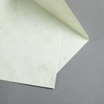 Marmor dtp Hüllen DIN C5 Weiß / Braun