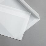 Transparent Premium Briefumschläge haftklebend DIN C5 | ohne Fenster | gerade Klappe
