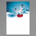 Schneemänner DIN A4
