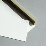 Creme enveloppes avec doublure craft 25 pièces