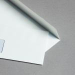 Hatari Hüllen DIN lang | Weiß | mit Fenster