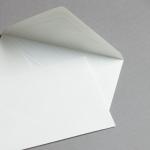Buste Bianco naturale con fodera DIN C6