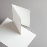 Opaline Karten DIN A5 hochdoppelt | 100 Stück