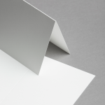 Cartes Opaline DIN A6 double haut | 25 pièces