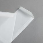 Enveloppes Transparent Premium DL | sans fenêtre | rabat droit côté court