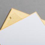 Shikishi Karten 118 x 118 mm - Aufsteller