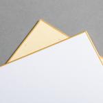Cartes Shikishi 136 x 121 mm