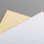 Cartes Shikishi 273 x 242 mm - support intégré