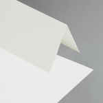 Karten DIN lang hochdoppelt Perlmutt metallic   100 Stück