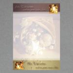 Goldene Weihnachten DIN A4 100 Blatt