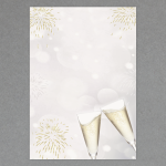 Silvester/Feier DIN A4 100 Blatt
