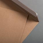 Kraftpapier Muskat Briefumschläge C4 haftklebend 25 Stück