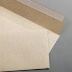 Graspapier Hüllen DIN lang haftklebend ohne Fenster