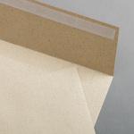 Grass paper envelopes DIN C5 pressure-sensitive adhesive no window