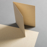 Grass paper cards 120 x 169 mm, half fold