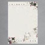 Weihnachtslaterne 100 Blatt