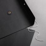 Umschlag C4 mit Bindfadenverschluss Schwarz