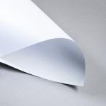 Metallics gebürstet 120 g DIN A4 | Silberweiß