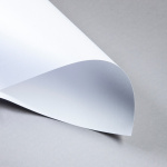 Metallics gebürstet 250 g DIN A4 | Silberweiß | 250 g/m²