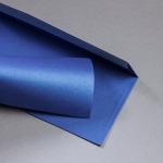 Metallics spazzolata Buste DIN lungo Blueprint