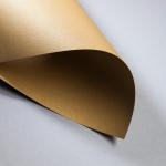Metallics gebürstet 120 g DIN A4 | Cognac