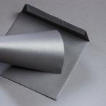 Metallics gebürstet Hüllen 155 x 155 mm Shadow