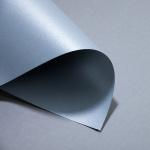 Metallics gebürstet 300 g DIN A3   Chrom   300 g/m²