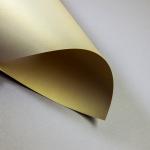 Metallics gebürstet 120 g DIN A3 | Gold