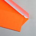 Ultra Neon Hüllen DIN lang | Neon Rot | ohne Fenster