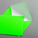 Ultra Neon Hüllen DIN C6 - Neon Grün