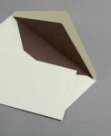 Pergament Hülle DIN lang Altweiß
