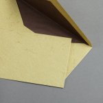 Pergament Hülle DIN lang Chamois