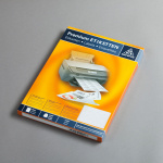 Etichette Trasparenti - 25 fogli