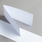 Karten Weiß DIN Lang querdoppelt