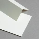 Cartes de table ivoire 86 x 105 mm
