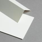 Tischkarten Elfenbein 86 x 105 mm
