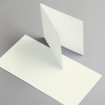Karten Elfenbein 155 x 155 mm doppelt