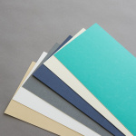 Colored cards 120 x 169 mm vertical fold